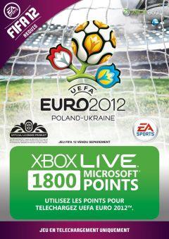 Jaquette de UEFA Euro 2012 Xbox 360