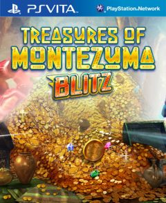 Jaquette de Treasures of Montezuma Blitz PS Vita