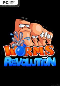 Jaquette de Worms Revolution PC