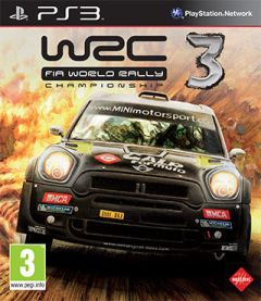 Jaquette de WRC 3 PlayStation 3