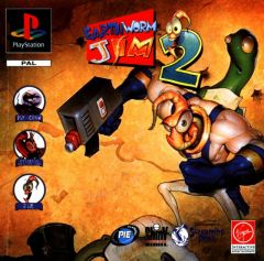 Jaquette de Earthworm Jim 2 PlayStation