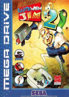 Jaquette de Earthworm Jim 2 Megadrive