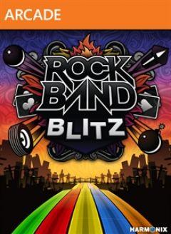 Jaquette de Rock Band Blitz Xbox 360