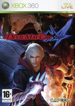 Jaquette de Devil May Cry 4 Xbox 360