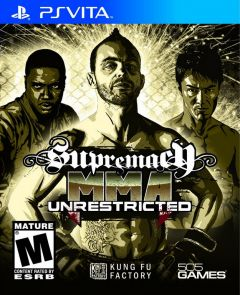 Jaquette de Supremacy MMA PS Vita