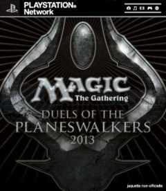 Jaquette de Magic : The Gathering - Duels of the Planeswalkers 2013 PlayStation 3