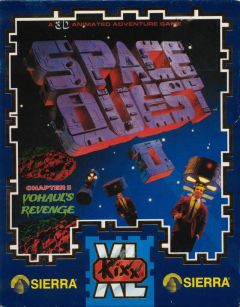 Jaquette de Space Quest 2 : Vohaul's Revenge Apple II
