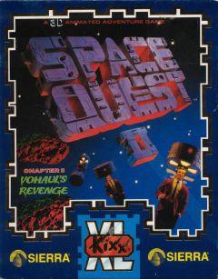 Jaquette de Space Quest 2 : Vohaul's Revenge Amiga