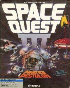 Jaquette de Space Quest 3 : The Pirates of Pestulon Amiga