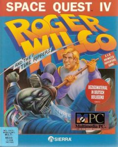 Jaquette de Space Quest 4 : Roger Wilco Et Les Voyageurs Du Temps Amiga