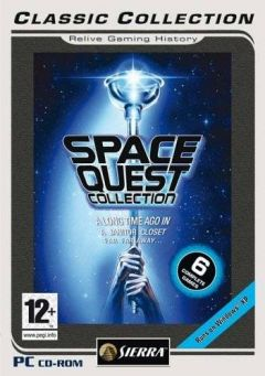Jaquette de Space Quest Collection PC