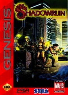 Jaquette de Shadowrun (Megadrive) Mega Drive