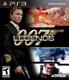Jaquette de 007 Legends PlayStation 3