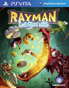 Jaquette de Rayman Legends PS Vita