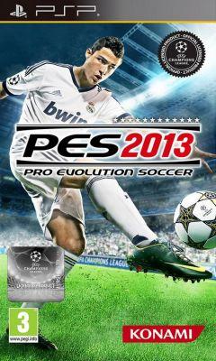 Jaquette de PES 2013 PSP