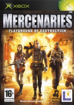 Jaquette de Mercenaries : Playground of Destruction Xbox