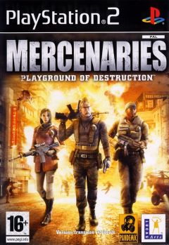 Jaquette de Mercenaries : Playground of Destruction PlayStation 2
