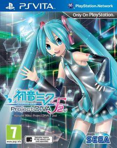 Jaquette de Hatsune Miku : Project Diva F PS Vita