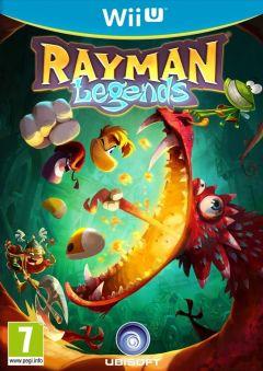 Jaquette de Rayman Legends Wii U