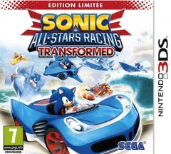 Jaquette de Sonic & All-Stars Racing Transformed Nintendo 3DS