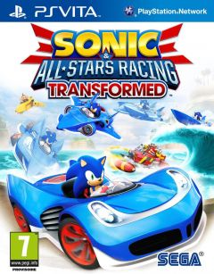 Jaquette de Sonic & All-Stars Racing Transformed PS Vita