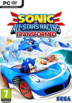 Jaquette de Sonic & All-Stars Racing Transformed PC