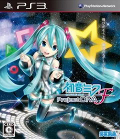 Jaquette de Hatsune Miku : Project Diva F PlayStation 3