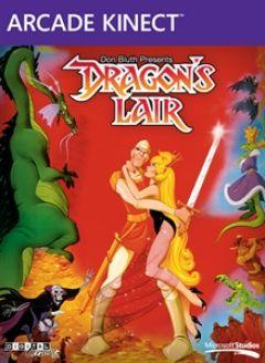 Jaquette de Dragon's Lair Xbox 360