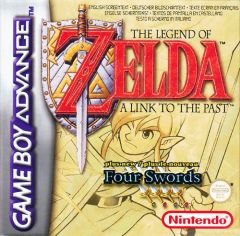Jaquette de The Legend of Zelda : A Link to the Past Game Boy Advance