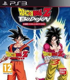 Jaquette de Dragon Ball Z : Budokai HD Collection PlayStation 3