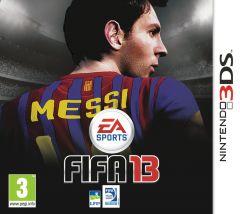 Jaquette de FIFA 13 Nintendo 3DS