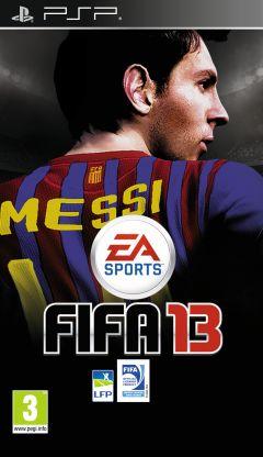 Jaquette de FIFA 13 PSP