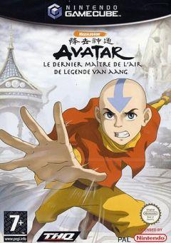 Jaquette de Avatar : le dernier maître de l'air GameCube