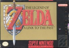 Jaquette de The Legend of Zelda : A Link to the Past Super NES