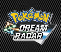 Jaquette de Pokémon Dream Radar Nintendo 3DS