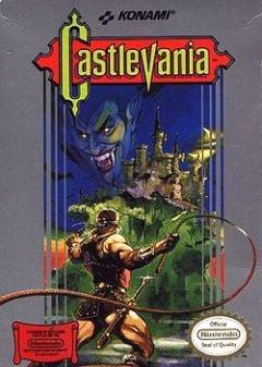 Jaquette de Castlevania NES