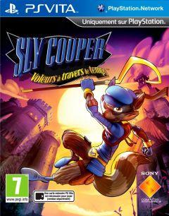 Jaquette de Sly Cooper : Voleurs à travers le Temps PS Vita