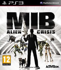 Jaquette de Men In Black : Alien Crisis PlayStation 3