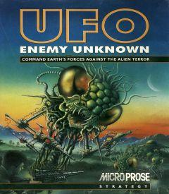 Jaquette de UFO : Enemy Unknown Amiga