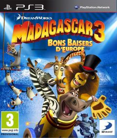 Jaquette de Madagascar 3 : Bons Baisers d'Europe PlayStation 3