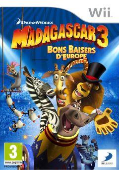 Jaquette de Madagascar 3 : Bons Baisers d'Europe Wii
