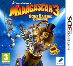 Jaquette de Madagascar 3 : Bons Baisers d'Europe Nintendo 3DS