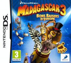 Jaquette de Madagascar 3 : Bons Baisers d'Europe DS