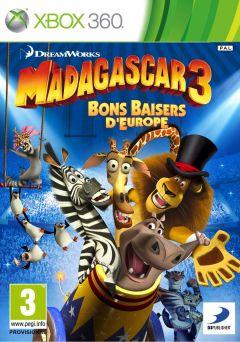 Jaquette de Madagascar 3 : Bons Baisers d'Europe Xbox 360