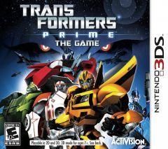 Jaquette de Transformers Prime Nintendo 3DS