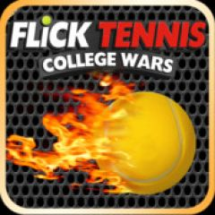 Jaquette de Flick Tennis : College Wars iPhone, iPod Touch