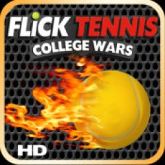 Jaquette de Flick Tennis : College Wars iPad