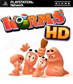 Jaquette de Worms PlayStation 3
