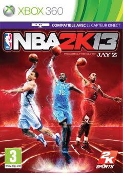 Jaquette de NBA 2K13 Xbox 360
