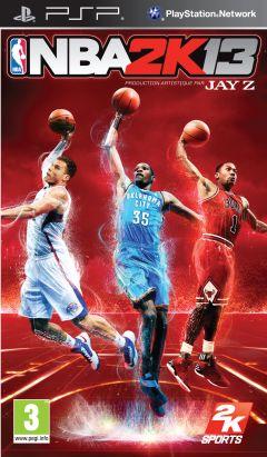 Jaquette de NBA 2K13 PSP
